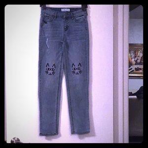 Fashion Girl's Denim Jeans